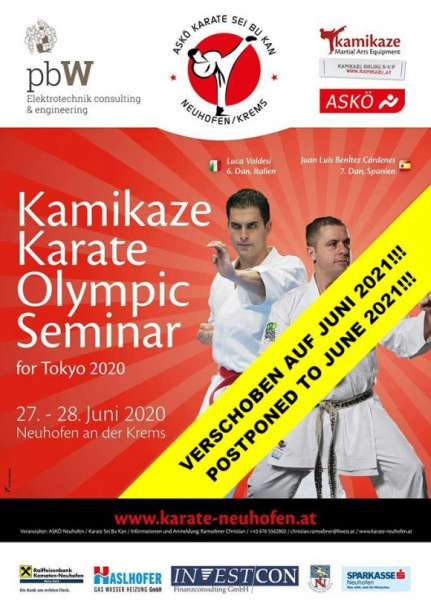 Kamikaze Karate Olympic Seminar for Tokyo